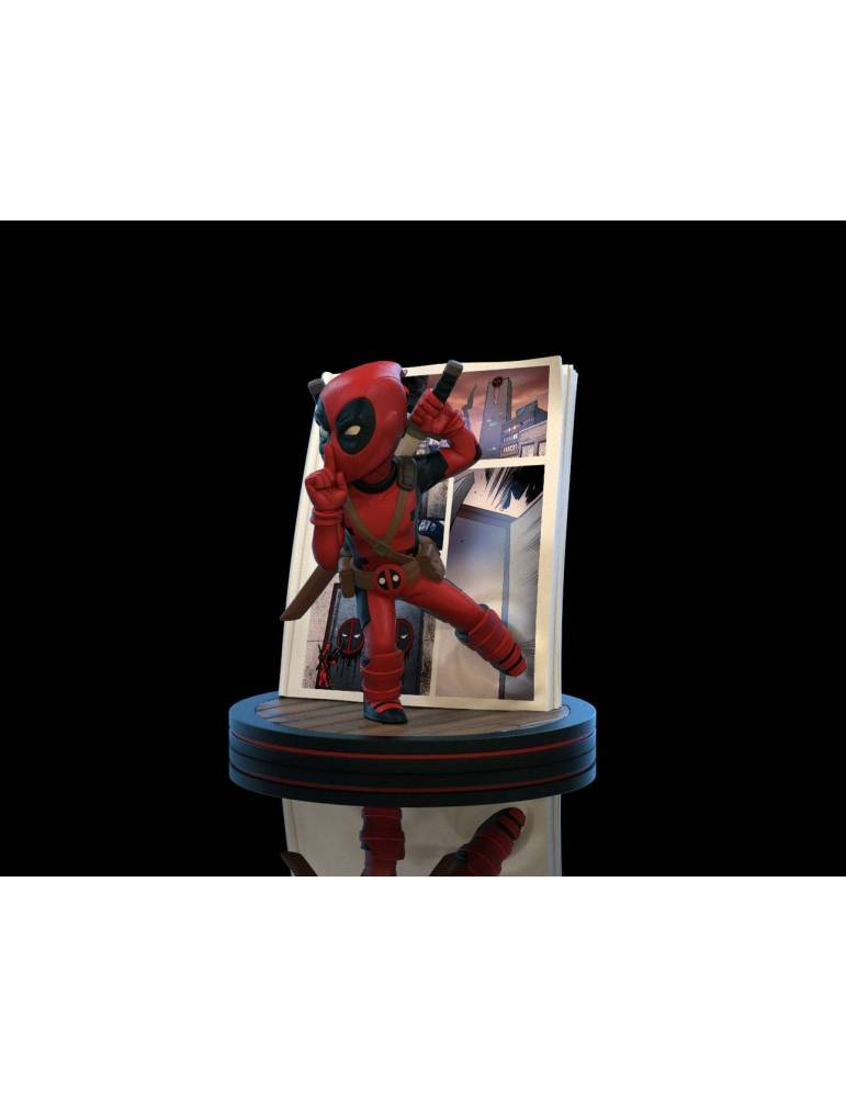 Diorama Marvel Q-Fig Deadpool 4D 10 cm