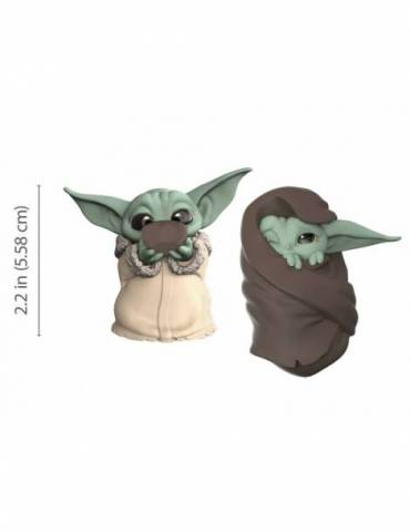 Pack Star Wars Mandalorian Baby Yoda Sopa + Manta The Bounty Collection 5