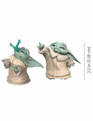 Pack Star Wars Mandalorian Baby Yoda Fuerza + Rana The Bounty Collection 5