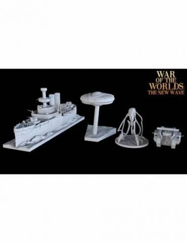 La Guerra de los Mundos: Expansión de Miniaturas