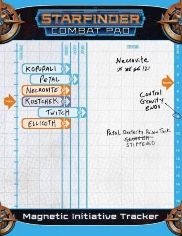 Starfinder Combat Pad (Inglés)