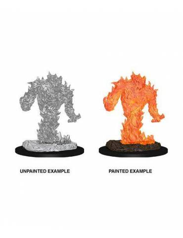 D&D Nolzur's Marvelous Miniatures: Fire Elemental (1 miniatura)