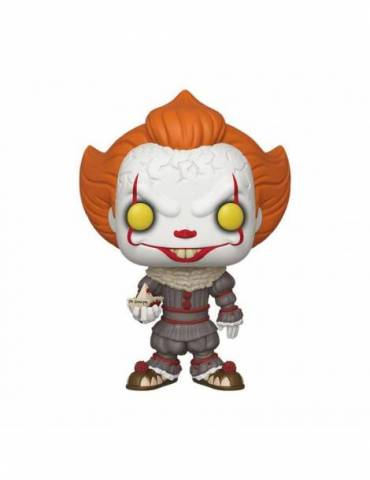Figura Pop Stephen King's It 2 Super Sized Vinyl Pennywise w/ Boat 25 cm