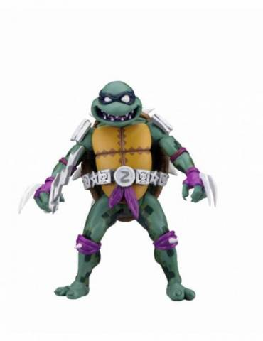Figura TMNT Turtles in Time Serie 1 Scale Action: Slash 18 cm