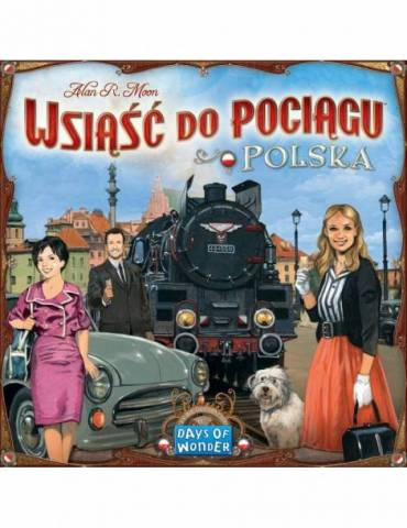 Ticket to Ride: Poland (Wsi??? do Poci?gu: Polska)