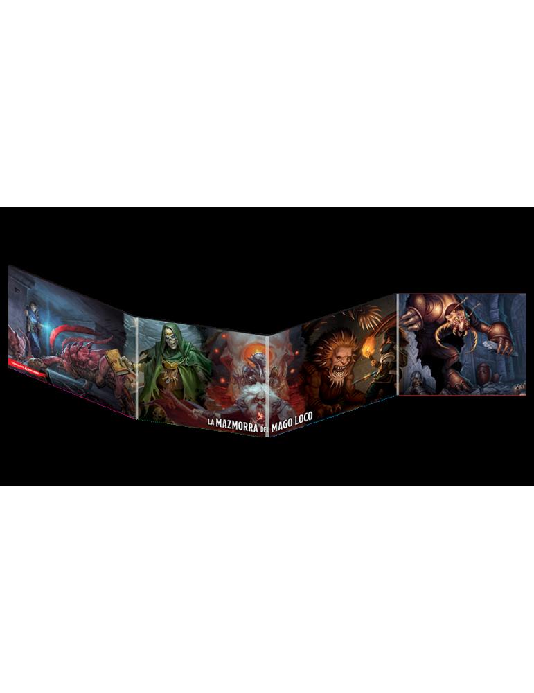 Dungeons & Dragons: Pantalla del Dungeon Master - Waterdeep: La Mazmorra del Mago Loco