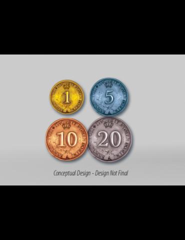 Rococó (Edición Deluxe): Monedas de metal