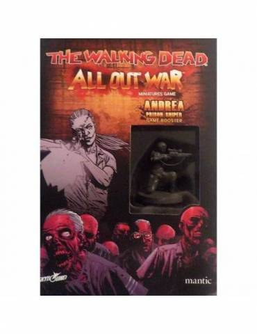 The Walking Dead: All Out War - Booster Andrea Francotiradora (W3)