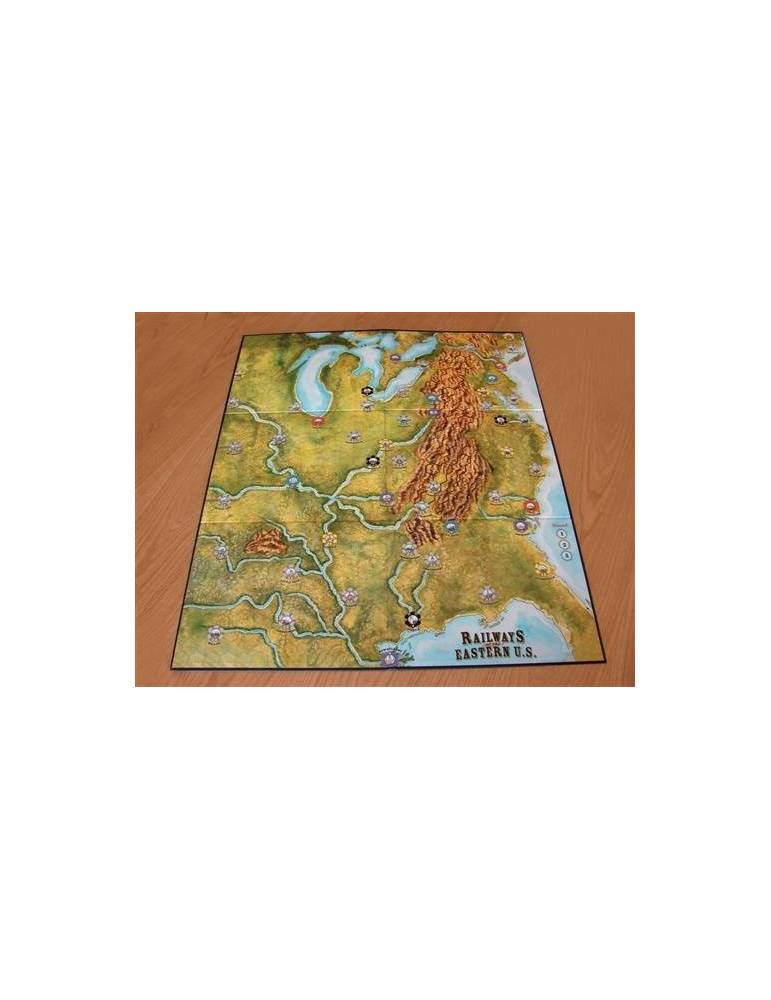 Railways of the World: Railways of Eastern U.S Map & Cards