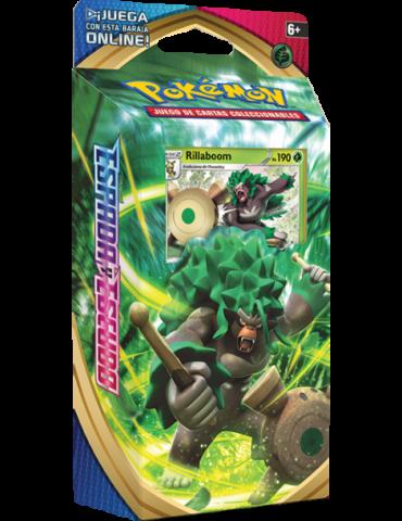 Pokémon JCC: Espada y Escudo - Baraja Temática Rillaboom