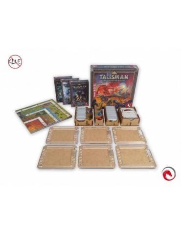 Inserto e-Raptor: Talisman 4th Edition + Expansiones + 6 Organizadores