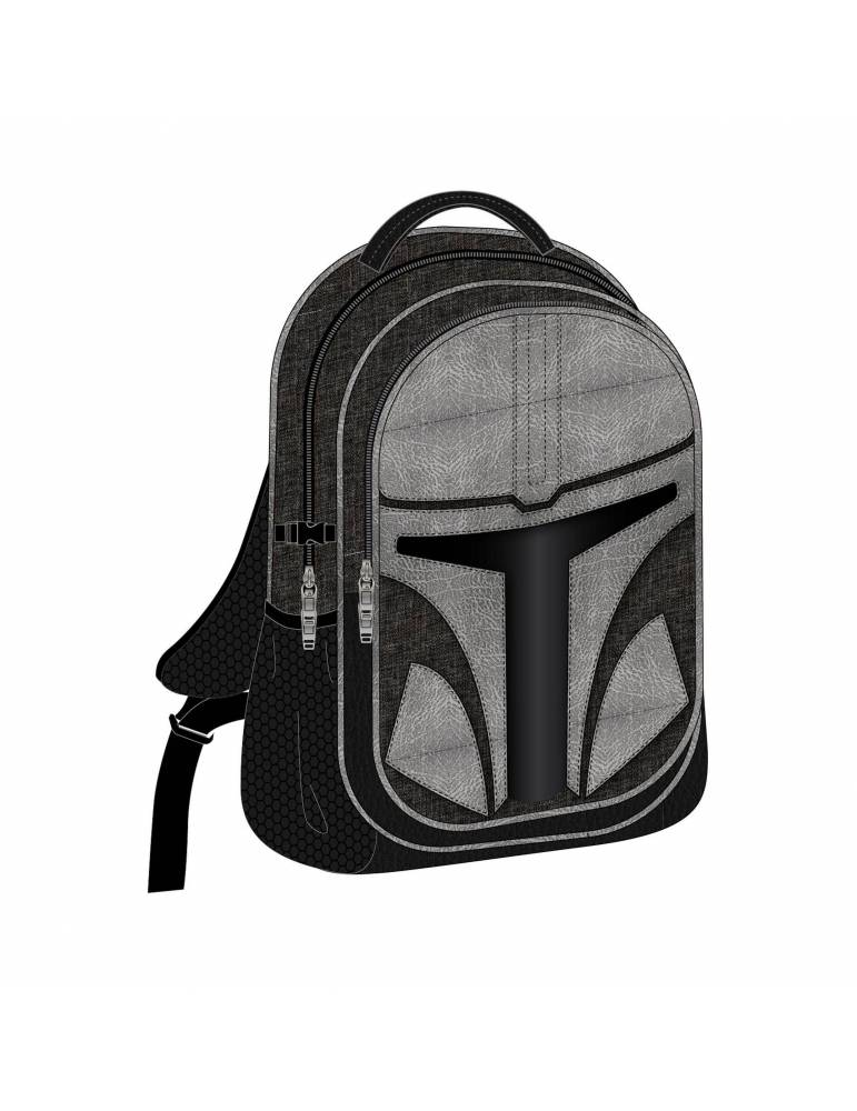 Mochila Star Wars The Mandalorian Casual Fashion The Mandalorian