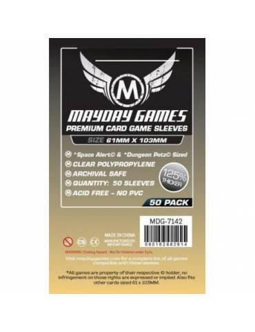 Fundas Mayday Space Card Space Alert / Dungeon Petz Premium 61 x 103 (50 unidades)