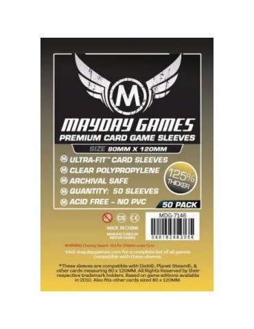 Fundas Mayday Magnum Gold Dixit Premium 80 x 120 (50 unidades)