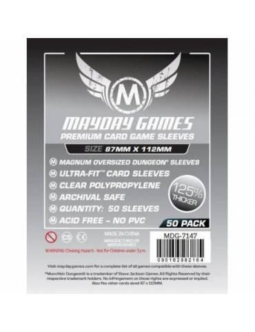 Fundas Mayday Magnum Oversized Dungeon Premium 87 x 112 (50 unidades)