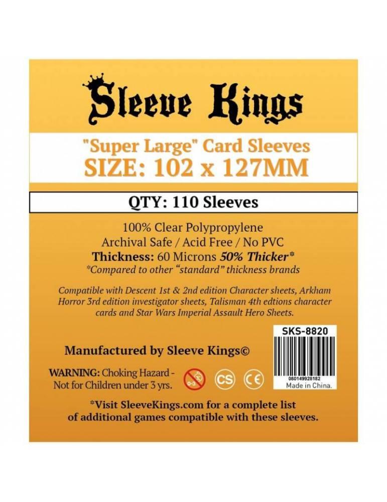 Fundas Sleeve Kings Super Large 102 x 127 mm (110 unidades)