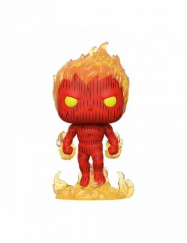 Figura POP Los 4 Fantásticos: Human Torch