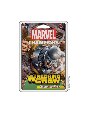 Marvel Champions: The Card Game - The Wrecking Crew Scenario Pack (Inglés)