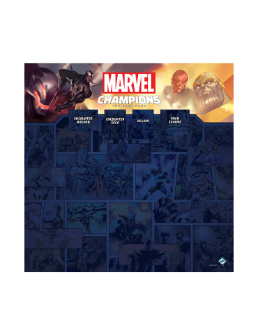 Marvel Champions: 1-4 Player Game Mat