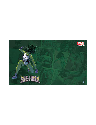 Marvel Champions: She-Hulk Game Mat