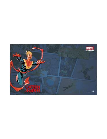Marvel Champions: Captain Marvel Game Mat