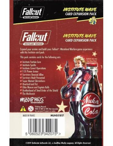 Fallout: Wasteland Warfare - Institute: Wave Card Game Expansion Pack