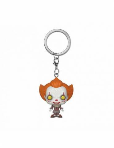 Llavero Pocket POP Stephen King's It 2: Pennywise 4 cm