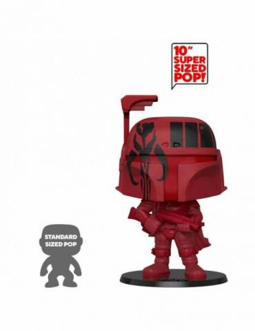 Figura POP! Star Wars Super Sized: Boba Fett (Red) 25 cm