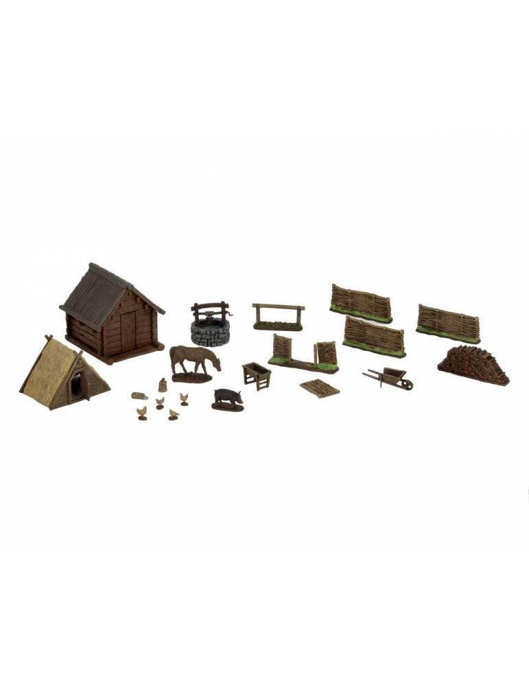 WizKids 4D Environments Miniaturas sin pintar Homestead