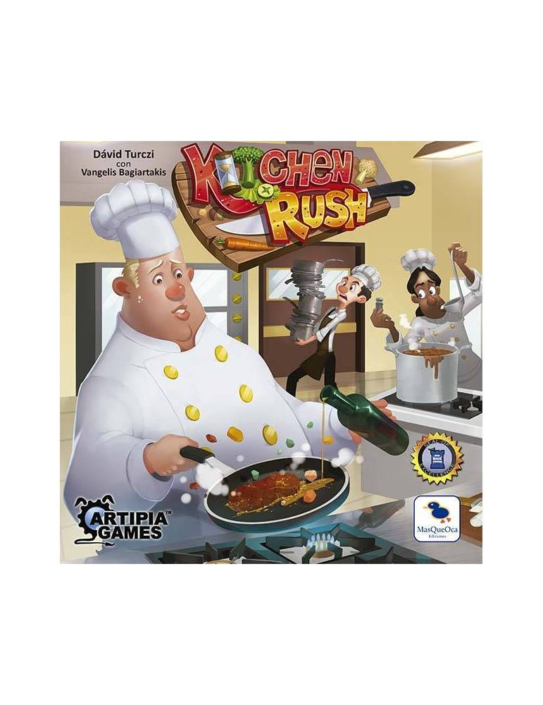 Kitchen Rush: Segunda Edición (Castellano)