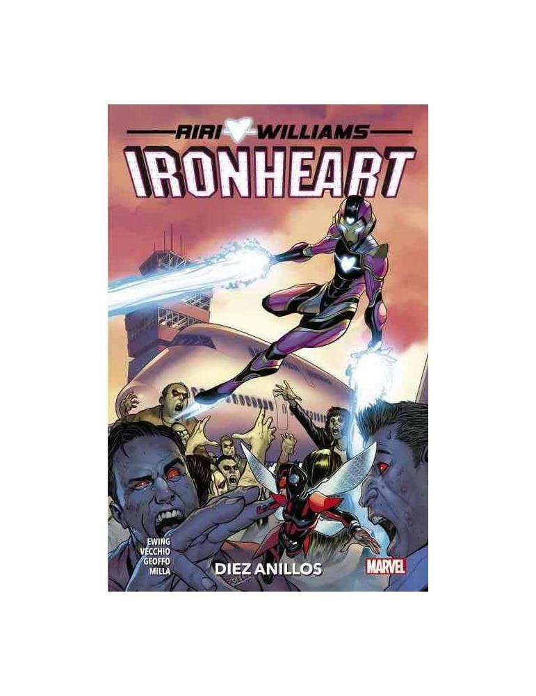 Riri Williams: Ironheart 02. Diez Anillos