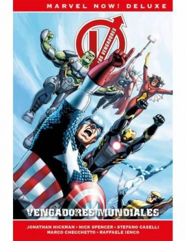 Los Vengadores de Jonathan Hickman 6. Vengadores Mundiales (Marvel Now! Deluxe)