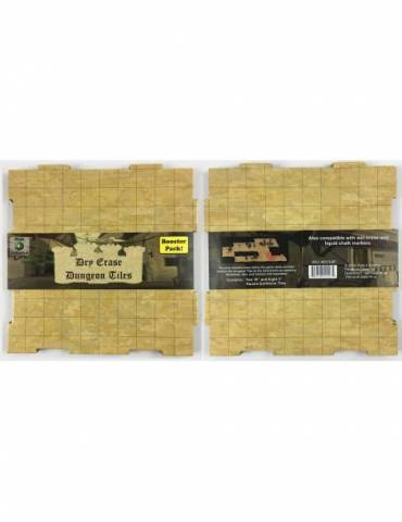 Dry-Erase Dungeon Tile Booster Pack Earthtone