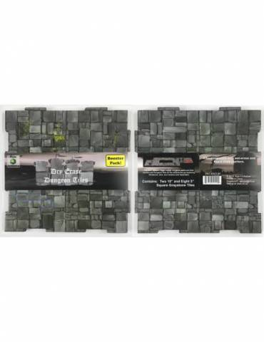 Dry-Erase Dungeon Tile Booster Pack Graystone