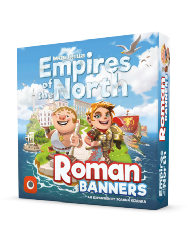 Imperial Settlers: Empires of the North - Roman Banners (Inglés)