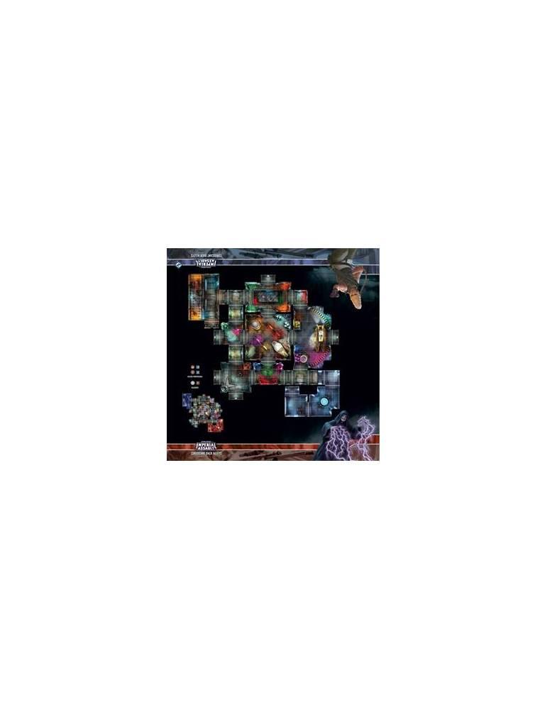 Coruscant Back Alleys Skirmish Map