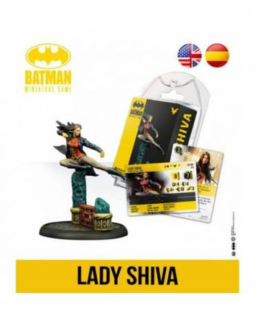 Batman: Miniature Game - Lady Shiva