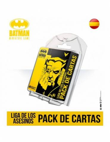 Batman: Miniature Game - Liga de los Asesinos: Pack de Cartas