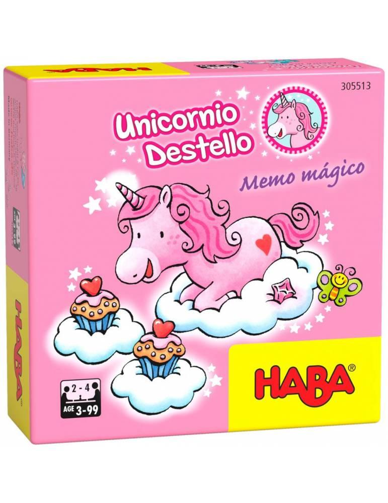 Unicornio Destello - Memo mágico