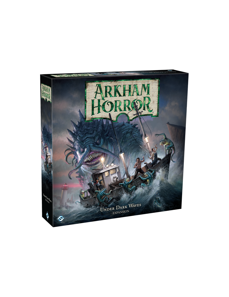 Arkham Horror (Third Edition): Under Dark Waves (Inglés)