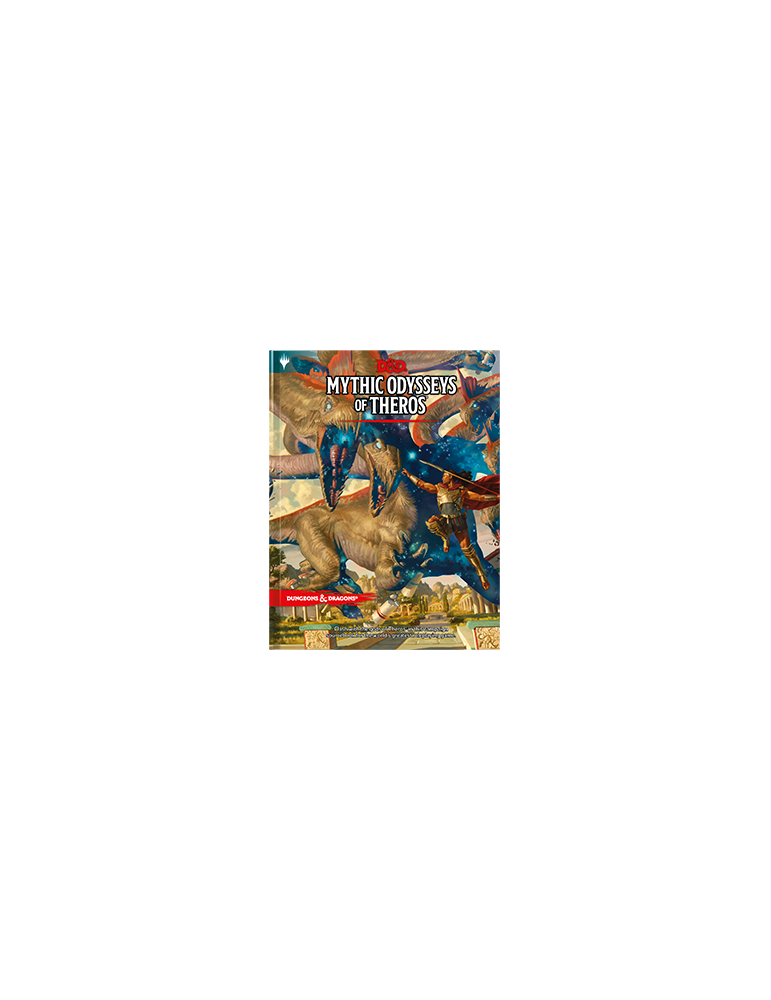 Dungeons & Dragons: Mythic Odysseys of Theros - Regular Cover (Inglés)