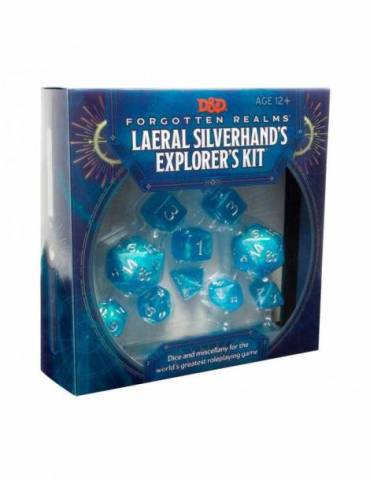 Dungeons & Dragons Forgotten Realms: Laeral Silverhand's Explorer's Kit - Dice & Miscellany (Inglés)