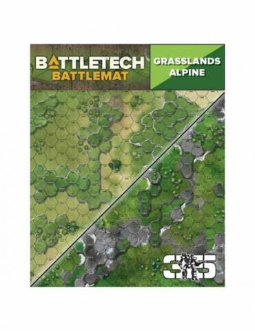 Tapete de neopreno BattleTech: Grasslands Alpine