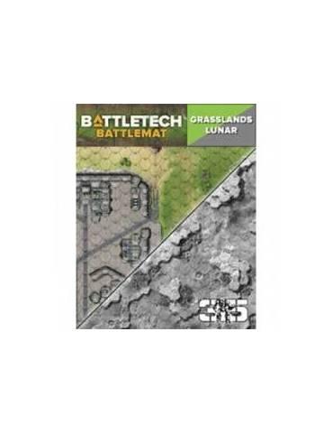 Tapete de neopreno BattleTech: Grasslands Lunar