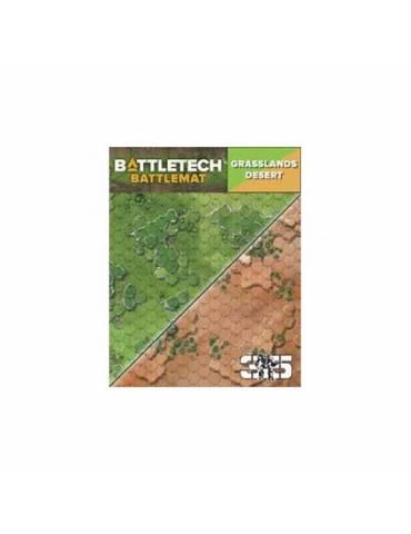 Tapete de neopreno BattleTech: Grasslands Desert