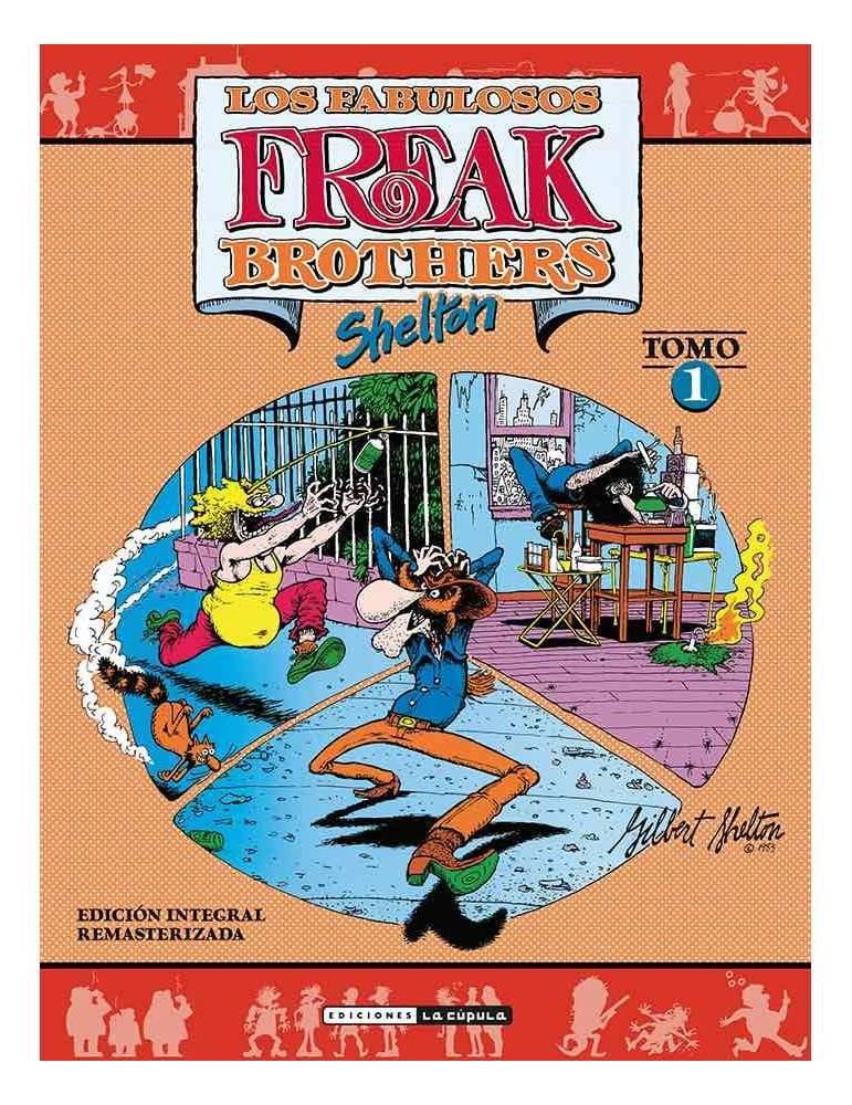 Freak Brothers Integral 01 (Rústica)
