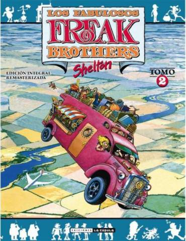 Freak Brothers Integral 02 (Rústica)