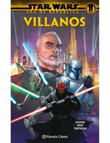 Star Wars Era De La Republica: Villanos (Tomo)