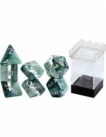 Set de dados Gate Keeper Games: Adamantine Supernova Dice