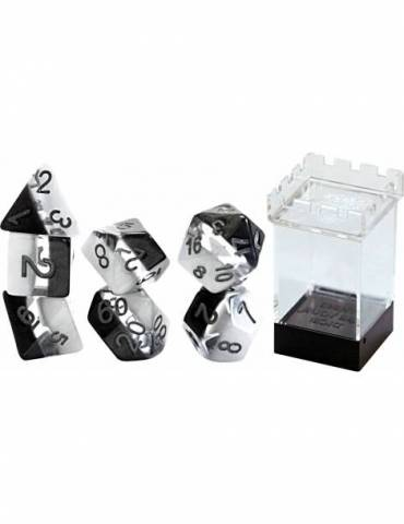 Set de dados Gate Keeper Games: Yin Yang Supernova Dice